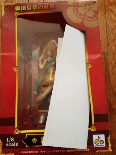 NEW Papagino Oda Nobuna no Yabo Oda Nobuna 1//8 PVC Figure US SELLER DAMAGED BOX