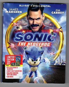 Brand New Sonic The Hedgehog Movie Blu Ray Dvd Digital 32429337559 Ebay
