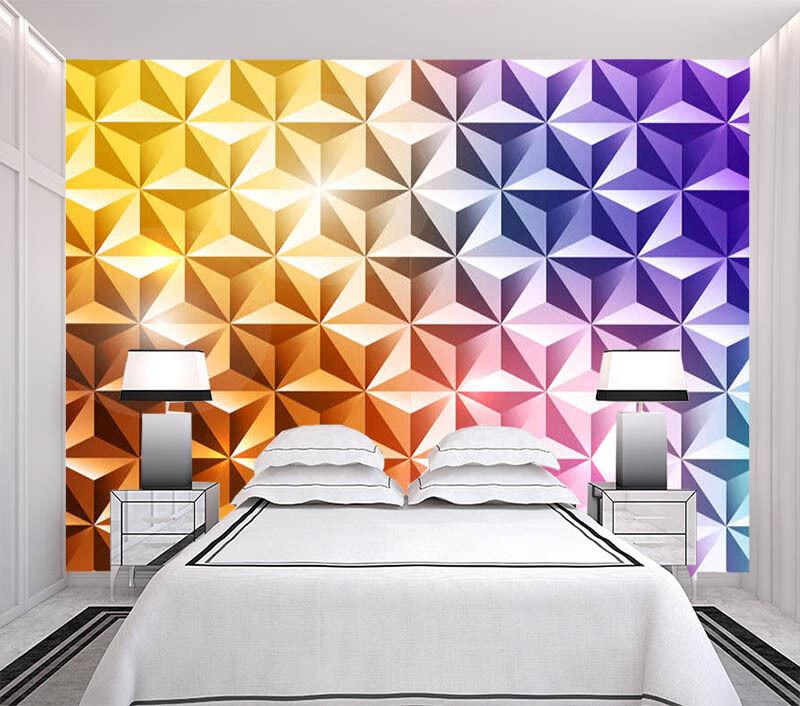 Sparkling Diamond 3D Full Wall Mural Photo Wallpaper Printing Home Kids Decor