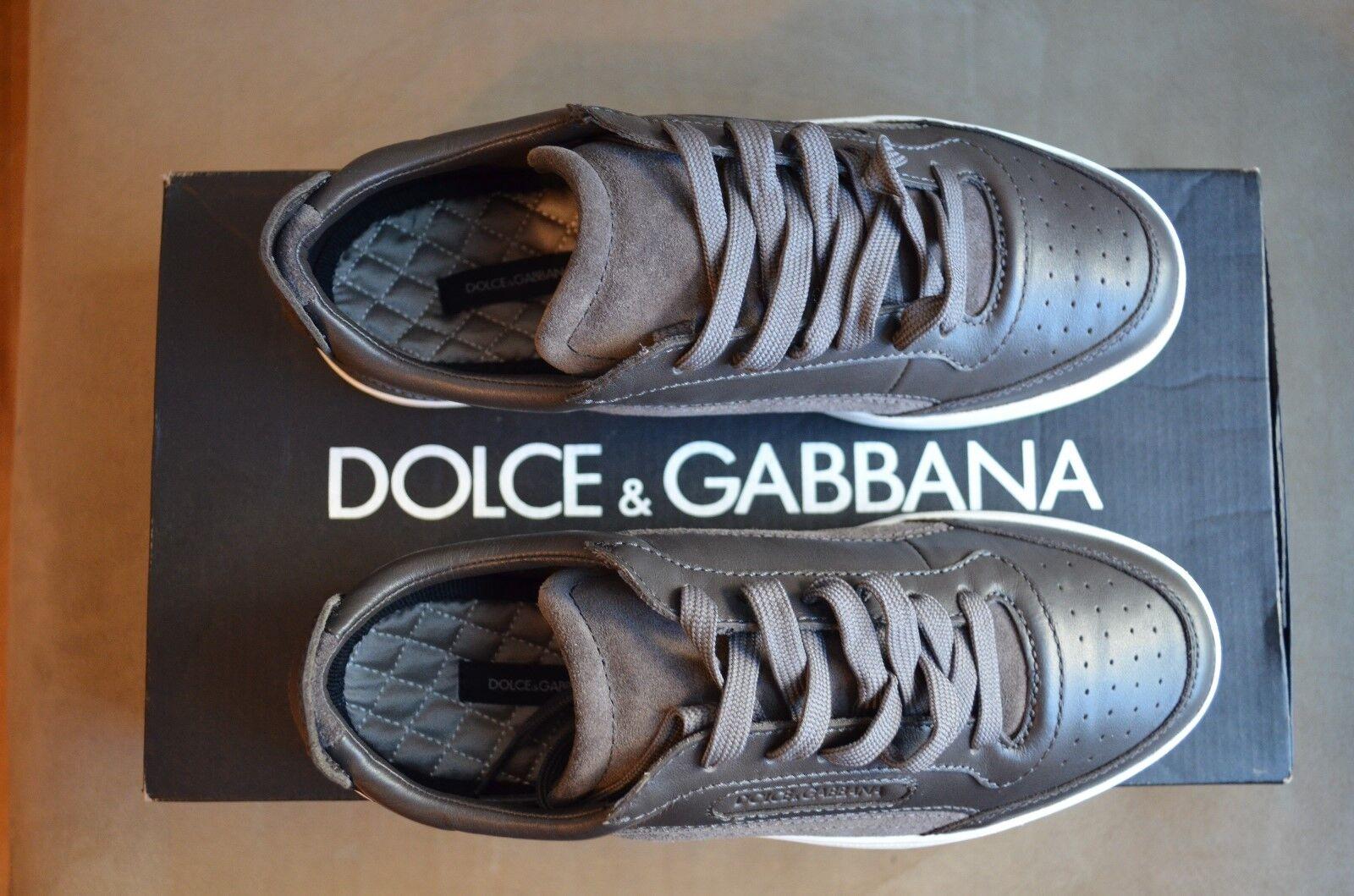 Dolce  Gabbana Cool castaño serraje    Lacio cuero bajos superior 887495