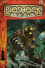 H994 New Bioshock Rapture Video Game Cover Custom Poster Print Art