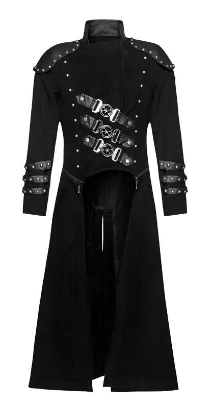 Manteau transformable veste clous gothique punk steampunk cranes armure clous veste Punkrave be636a
