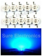 100pcs 3W 3Watt High Power Blue LED Beads Lamp Wholesale DIY