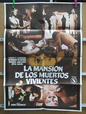 LA MANSION DE LOS MUERTOS VIVIENTES - JESS FRANCO         MIDE 80X58