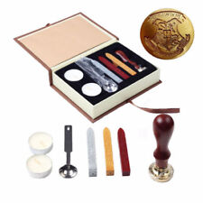 Personalized Harry Potter Hogwarts School Badge Wax Seal Stamp w/Wax Set New