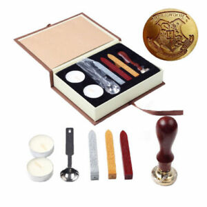 Vintage-Harry-Potter-Hogwarts-School-Wax-Badge-Seal-Stamp-Kits-Wax-Set-Tool-Gift