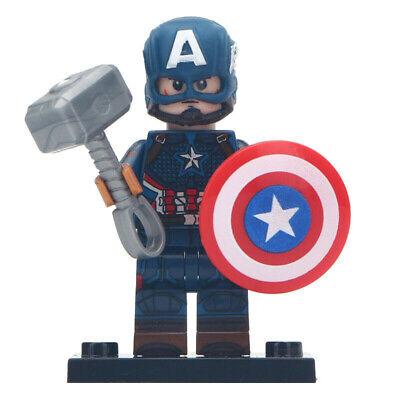 Captain America Marvel Comics Lego Moc Minifigure Peggy Carter
