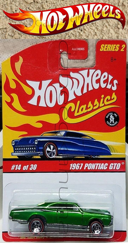 Hot Wheels - Classics - 1967 Pontiac GTO - Die-Cast - Series 2 - of 30