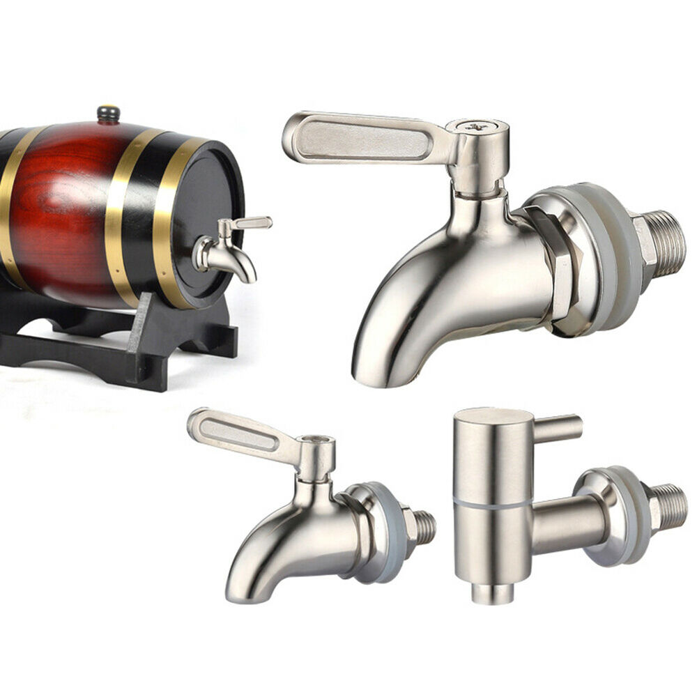 DI- Stainless steel Spigot Tap Faucet for Wine Beer Barrel B