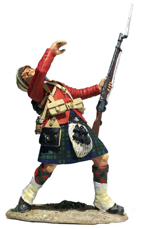 BRITAINS 27067 - 42nd Highland Casualty Falling No.1