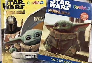 Brand-NEW-Star-Wars-Baby-Yoda-The-Mandalorian-Mando-amp-The-Child-Coloring-Book