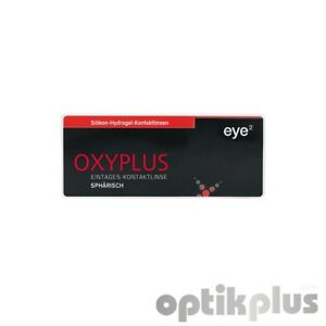 9189 Streng Eye2 Oxyplus Tages-kontaktlinsen Sphärisch 30er-pack
