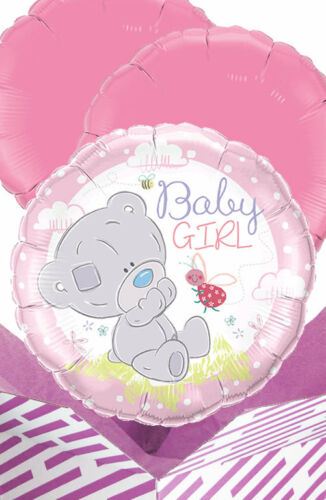 Tatty Teddy Baby Girl Balloon in a Box Gift Delivered Personalised Message!