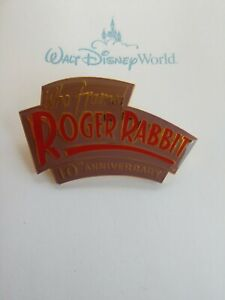 Disney-Who-Framed-ROGER-Rabbit-RARE-10th-Anniversary-Pin-LE-WDW-DLR-HTF