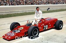 Graham Hill Lotus 56B Turbine Indianapolis 500 1968 Photograph