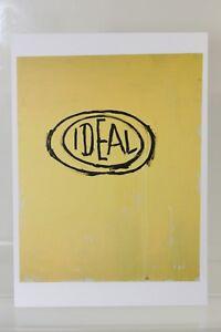 JEAN-MICHEL-BASQUIAT-034-IDEAL-034-1988-rare-Art-Postcard-NEW
