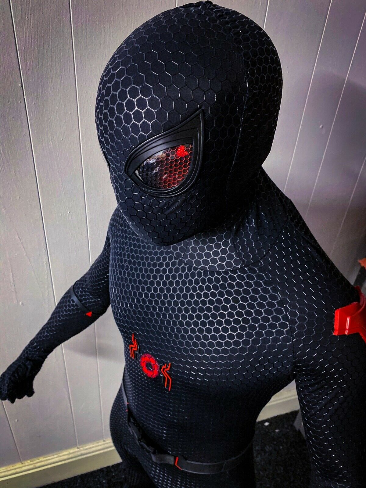 Movie Quality Tactical Stealth Spider-Man Suit (with immediate dispatch)