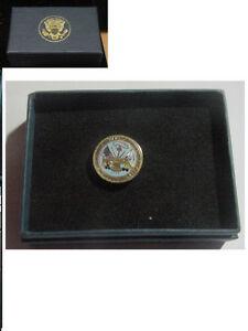 presidential department of the army lapel pin . New