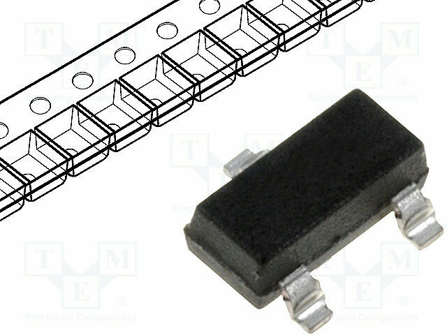N-MOSFET unipolaire 30 V 5,8 a 2 W sot26 dmn3033ldm-7 N-Canal-transistore Transistor