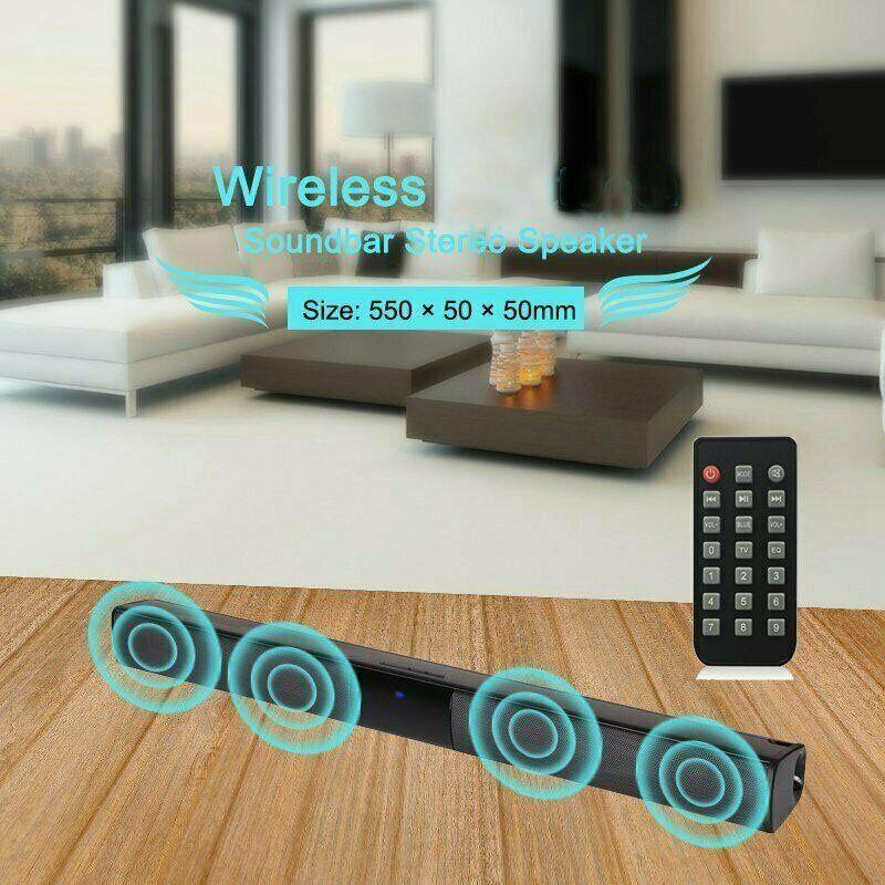 "21"" Wireless bluetooth Bar TV Theater Soundbar"