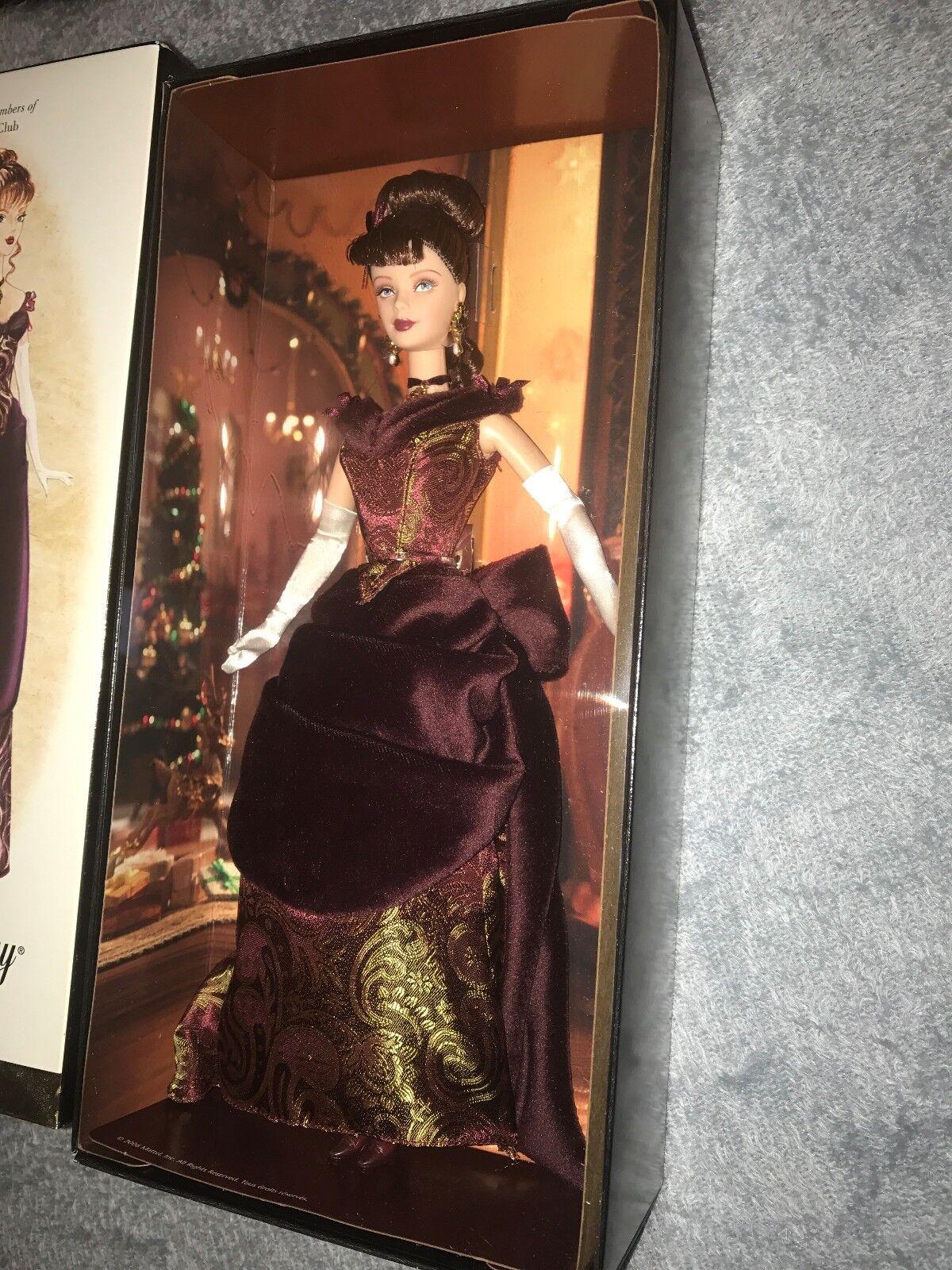 Victoriano vacaciones oro Label 2006 Muñeca Barbie COLECCIONISTA FAN club exclusivo nunca quitado de la caja