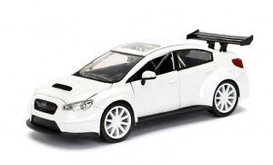 Fast  Furious F8 Mr. Little Nobody`s Subaru WRX weiß 1:24 Jada 98296 neu + OVP