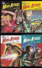 MARS ATTACKS 1 2 3 4 MINI POCKET COMICS TOPPS BASED ON CARD SET CAPULLO