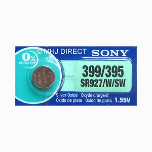 SONY-395-399-SR927-W-SW-Silver-Oxide-Watch-Batteries-SELECT-1-2-3-4-5-amp-10-x-QTY