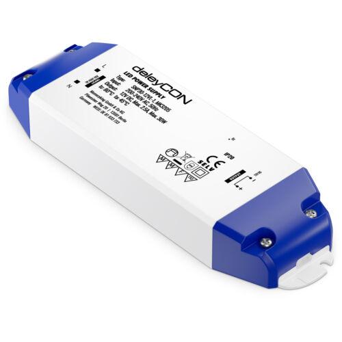 deleyCON 30W LED Trafo 12V LED Transformator Netzteil LED Treiber G4 MR16 MR11