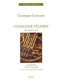 Concone Studies For Horn In F-afficher Le Titre D'origine Garantie 100%