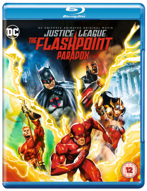 DCU: Justice League: Flashpoint Paradox [2017] [Region Free] (Blu-ray)