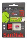 SanDisk microSDHC 16GB Class 10 - MicroSDHC Card - Retail - SDSDQUA-016G-U46A