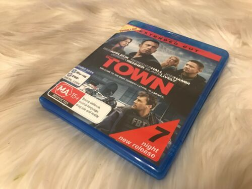 1 of 1 - The Town - Blu Ray Free Postage - Ex Rental