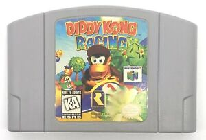 Diddy-Kong-Racing-N64-Nintendo-64-Authentic-Cartridge-Only-Cleaned-TESTED