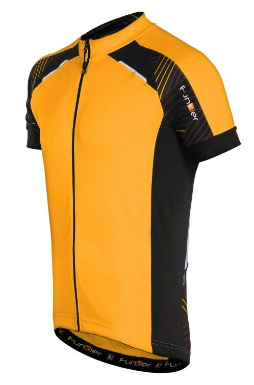NEW 2016 Funkier Men's Cycling J7305 Short Sleeve Jersey Waterproof,Ref arancia