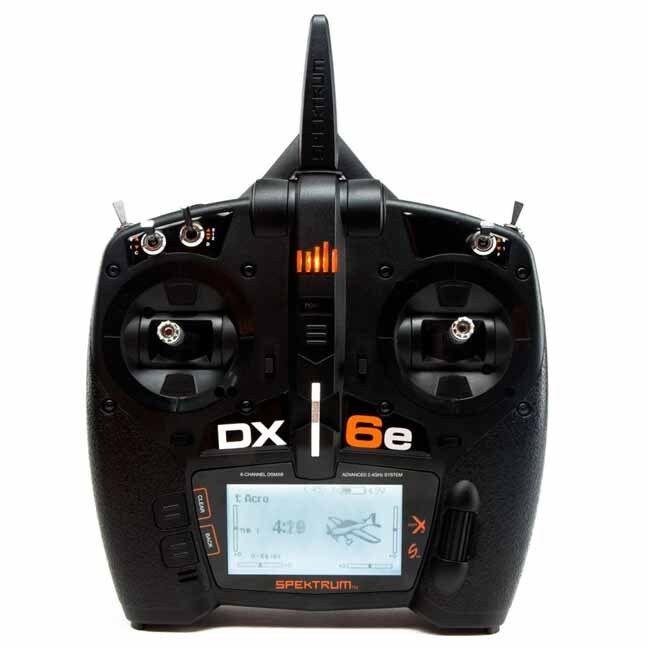 Spektrum SPMR6650 DX6e 6-Ch DSMX Transmitter    Airplane Helicopter Sailplane