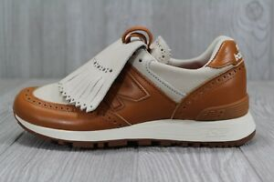 Details zu 37 Womens New Balance 576 X Grenson Phase Two Leather Tan Shoes  SZ 6 W576GTW