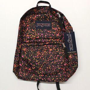 Bookbag Superbreak School Backpack Splatter Dot Multicolor JanSport