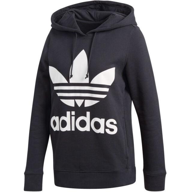 ladies adidas trefoil hoodie