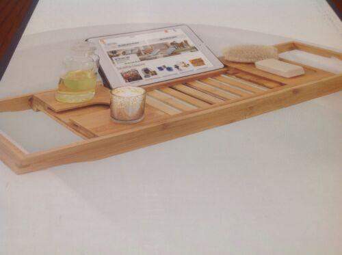 Glacier Bay Expandable Bamboo Bathtub Tray Model; 17BT1201