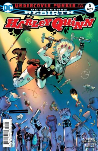 HARLEY QUINN REBIRTH REGULAR COVER #5 DC