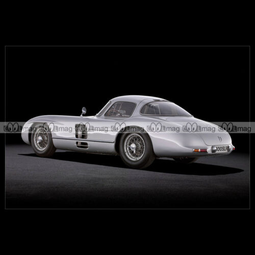 W196S 1955 Car Auto #pha.014046 Photo MERCEDES-BENZ 300 SLR UHLENHAUT COUPE