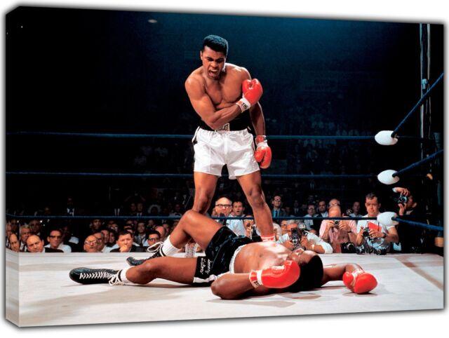 Muhammad Ali Boxing CANVAS PRINT Home Wall Decor Giclee Art Poster CA574