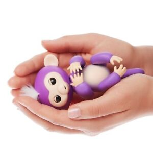 6-Functions-Baby-Monkey-Finger-Kids-Toy-Electronic-Interactive-Pet-Lings-Purple