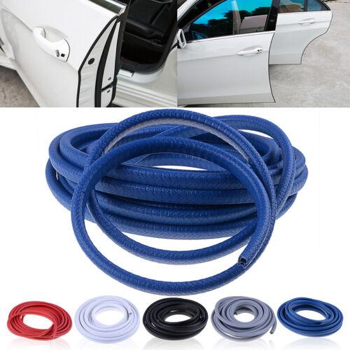 4.5m Blue Rubber Car Door Trim Edge Lock Guard Moulding Seal Strip Protector