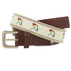 1db89e32a2d Arnold Palmer Golf Embroidered Logo Web Belt 38 Waist (khaki) for sale  online