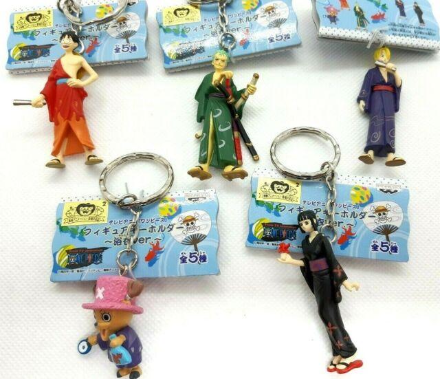 2003 Zolo Anime Mini Figure Keychain One Piece Banpresto Japan
