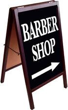 Barber Shop A Frame Sign Sidewalk Pavement Sign Double Sided 172875 Kb