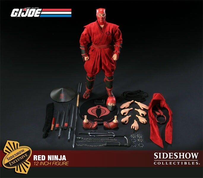 Sideshow G.I. Joe Exclusive rot Ninja Cobra MIB New