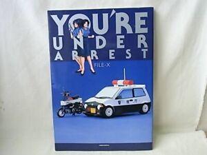 You-039-re-Under-Arrest-034-FILE-X-034-illustration-art-book